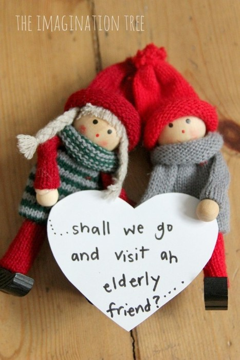 Kindness Elves: An Alternative Elf on the Shelf Tradition & WAY Less Creepy! | Heart_Matters | Scoop.it