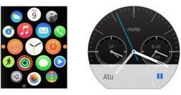 Android Wear vs. Apple Watch | OPTISIAST | Scoop.it