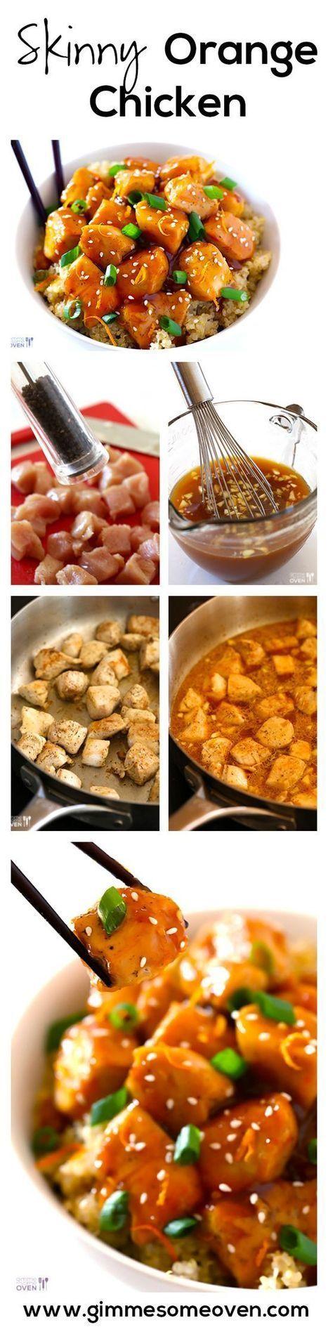 SKINNY Orange Chicke   cooking   Scoop.it