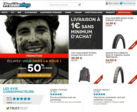 [ETUDE DE CAS] Probikeshop multiplie par 1,5 son CA par e-mailing | Etudes de cas E-marketing | Scoop.it