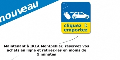 "Ikea Montpelllier inaugure le service drive "" click and collect "" - Emarketing 