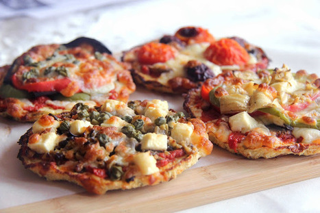 Cauliflower Pizza Bases | The Man With The Golden Tongs Goes All Out On Health | Scoop.it