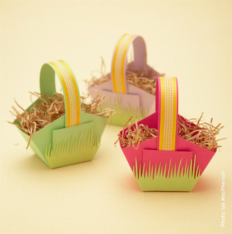 Craft Friday: Paper Easter Baskets | Kids Making Projects | Scoop.it