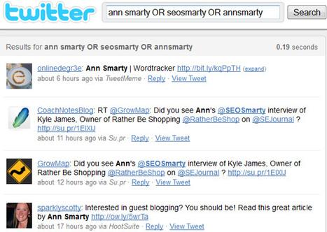 5 astuces de recherche sur Twitter pour mesurer votre e-réputation [UK] | Animer une communauté Twitter | Scoop.it