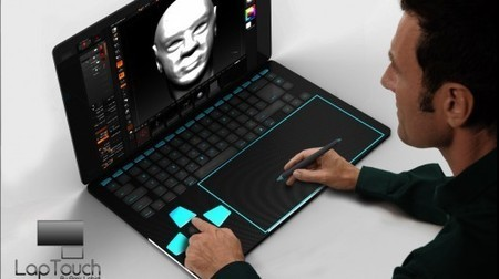 LapTouch: a conceptual laptop for creative minds | Daily Magazine | Scoop.it