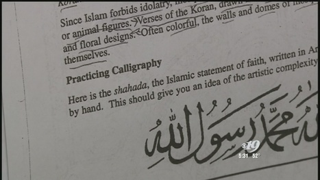 Parents Express Concern About Islam-Related Assignment in School | AP Human Geography Digital Knowledge Source | Scoop.it