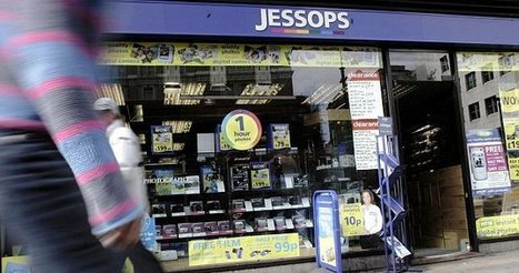 Jessops administrator to close ALL 187 stores of failed camera chain TODAY with loss of 1,370 jobs | Business studies revision unit 1 | Scoop.it