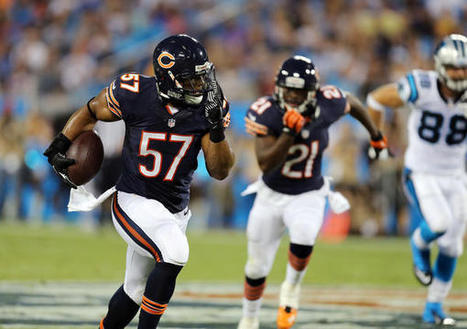 Is Trestman wrong in starting D.J. Williams over Jon Bostic? | Sports Debate | Scoop.it