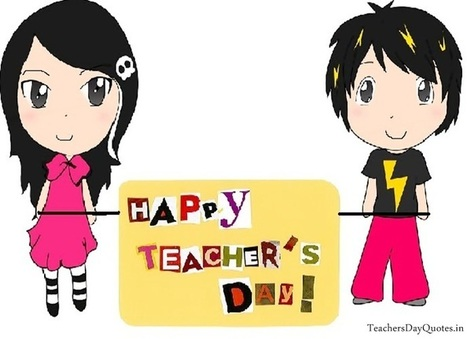 Cute Cartoon Teachers Day Cards for Kids | Wishes Quotes | Scoop.it