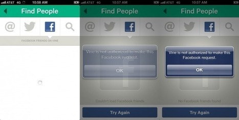 Facebook cuts off Vine; are social networks killing the social web ... | Sniffer | Scoop.it