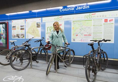 Los nuevos aparcabicis en el metro (y otras medidas de promoción de la intermodalidad bici+transporte público) - ecomovilidad.net | movilidad sostenible | Scoop.it