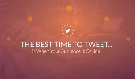 Want More Followers to See Your Tweets? Here's the Best Time to Post | World of #SEO, #SMM, #ContentMarketing, #DigitalMarketing | Scoop.it