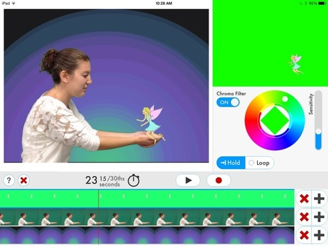 More testing: Green Screen DOINK app - Dryden Art | Edu Technology | Scoop.it