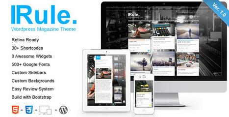 Rule - Retina Responsive WordPress Theme | Blogging Tips and Tricks | Scoop.it