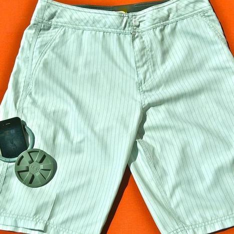 Keep Your Gadgets Dry at the Beach With These Waterproof Pocket Shorts | Wearable Tech | Scoop.it