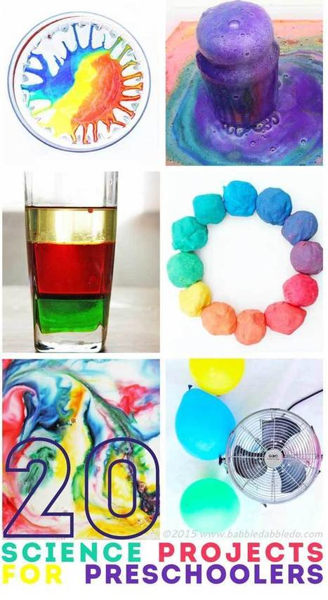 20 Science Projects for Preschoolers - Babble Dabble Do | Technology and Education Resources | Scoop.it