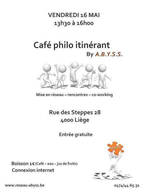 Café philo itinérant by A.B.Y.S.S. | Facebook | Secrétariat | Scoop.it