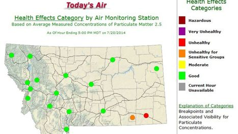 Air quality improves in Great Falls - Great Falls Tribune | Geographical Issues | Scoop.it