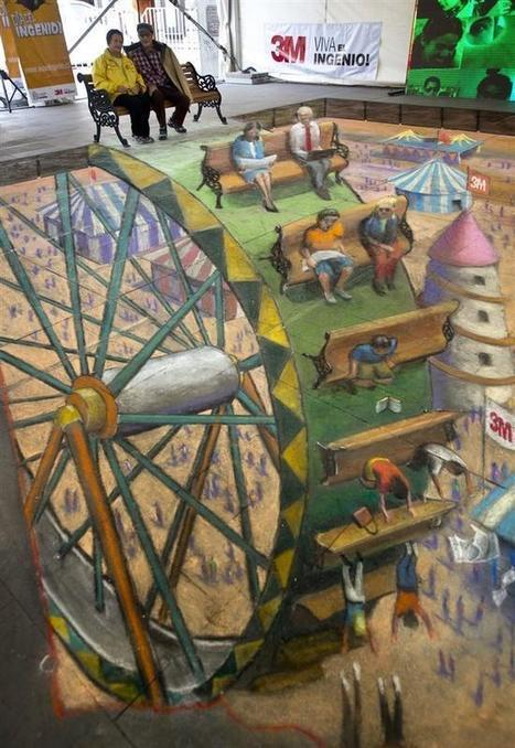 Twitter / Perspective_pic: Absolutely mind blowing....chalk ... | Cool Art | Scoop.it