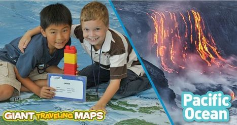 Giant Traveling Maps: Pacific | STEM Connections | Scoop.it