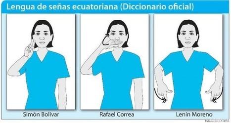 Simón Bolívar ya tiene traducción en lengua de señas: Ecuador incluye al prócer en diccionario para sordos | Noticias de Maracaibo y Sucesos del Zulia 24 horas al dia en Venezuela | comunidad sorda | Scoop.it