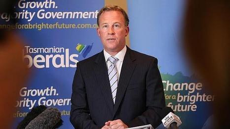 Polls say Hodgman will be Tasmania's premier   Tasmanian Politics   Scoop.it