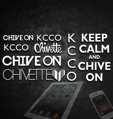 #ChiveOn, Chivette, #KCCO Mobile Phone & Tablet Stickers - KCCOdecals.com | KCCO | Scoop.it