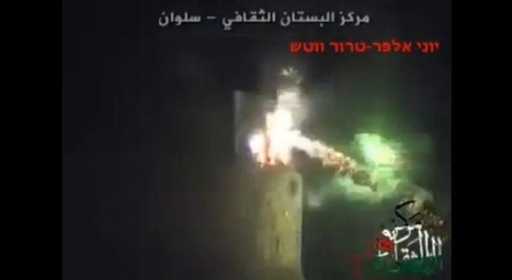Caught on Video: Alleged Palestinians Attack Historic Jewish Home with Firecrackers and Molotov Cocktails | TheNews | Scoop.it