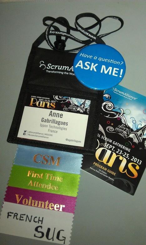 Retours sur la conférence Scrum Gathering Paris « Le Blog d'Ippon ... | Forum Ouvert | Scoop.it
