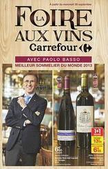 La foire aux vins de Carrefour starifie Paolo Basso, meilleur sommelier du monde 2013. | Verres de Contact | Scoop.it