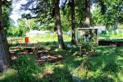 Museum Plants Artworks in Detroit's Community Gardens - Hyperallergic   Social Art Practices   Scoop.it
