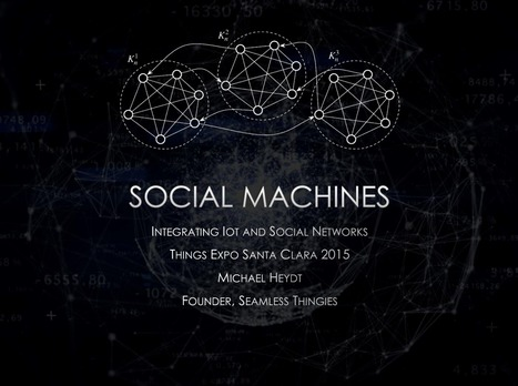 [PDF] Social Machines: Integrating IoT and Social Networks | Edumorfosis.it | Scoop.it