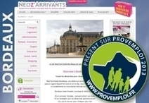 NeoZarrivants Bordeaux présent au salon Provemploi 2013: Vivre et Travailler en Province ! | Changer de ville - nouvel arrivant, newcomer. | Scoop.it