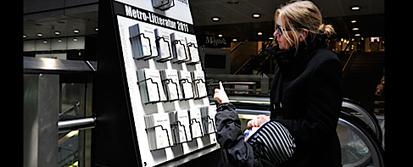 A Copenhague, des juke box littéraires font leur entrée dans les transports publics | InnovCity | Outils et  innovations pour mieux trouver, gérer et diffuser l'information | Scoop.it