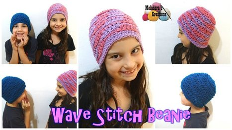 Wave Stitch Beanie | Crochet | Scoop.it