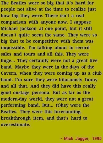 Tweet from @beatle_INA   Mick Jagger   Scoop.it