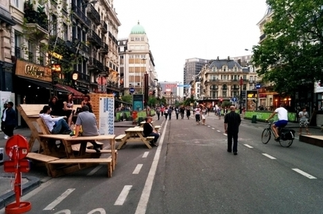 """Brussels wins award for pedestrian zone - and vetoes another project 