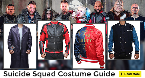 The DIY Guide To Suicide Squad Costumes 2016 | celebrities Leather Jackets | Scoop.it