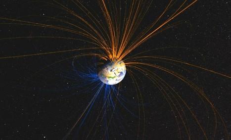 Les pôles magnétiques terrestres peuvent s'inverser brutalement | Transition | Scoop.it