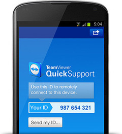 Mobile Device Support with TeamViewer | Mats Djärf | Scoop.it