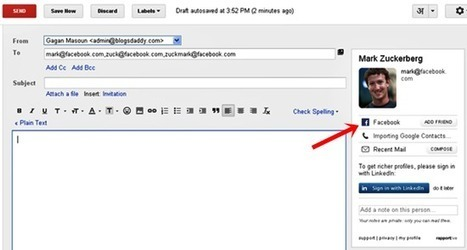 How to Find Someone's Email Address With Easy Trick - Blogs Daddy | Blogger Tricks, Blog Templates, Widgets | Scoop.it