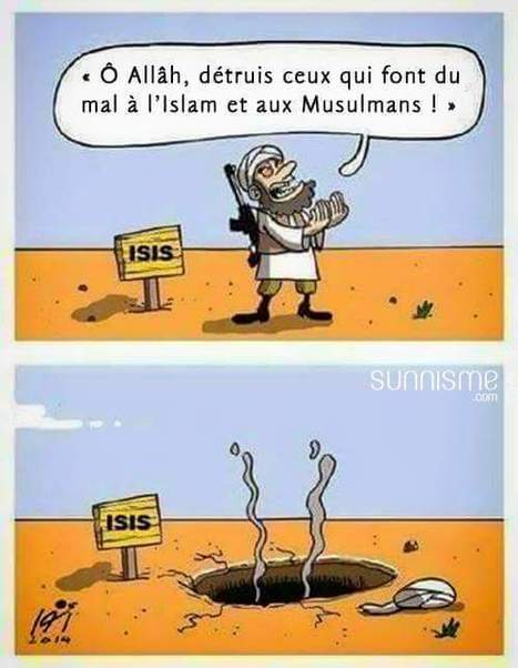 Dessin: les ennemis de l'Islam... | Dessins de Presse | Scoop.it