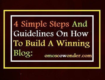 How To Build A Winning Blog: 4 Simple Steps - ComLuv | Likeable Blogs | Scoop.it