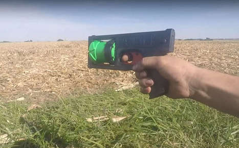 Man 3D-Prints Working Revolver With His Name On It | Research_topic | Scoop.it