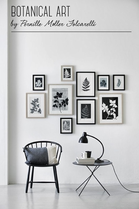Happy Interior Blog: Botanical Prints By Pernille Møller Folcarelli | Audio-Video Online connectivity Done affordably with Displayport Cabling | Scoop.it