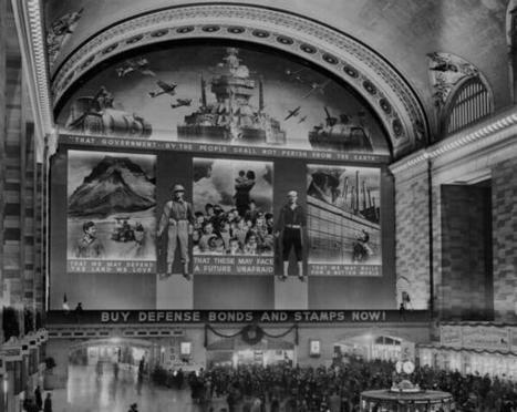 Twitter / HistoricalPics: Grand Central during World ... | Transportation | Scoop.it