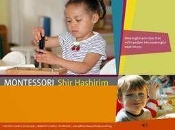 Montessori Shir Hashirim   Toddler School   Montessori shir hashirim   Scoop.it