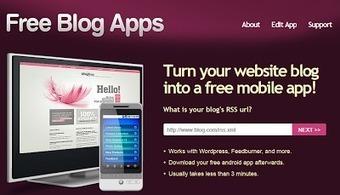 Com convertir el nostre blog en una app per a mòbil | recursos escola | Scoop.it