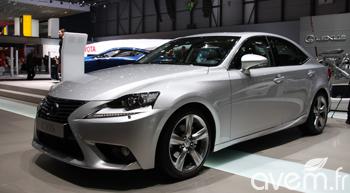Première européenne pour la nouvelle IS 300h | Lexus vu par le web (français) | Scoop.it