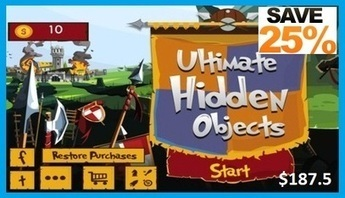 Hidden Objects iPhone Game Source Code Now Available at MobileAppsGallery | iPhone App Source Code | Scoop.it